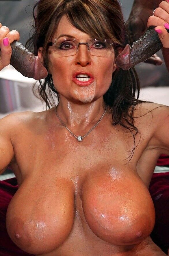 Free porn pics of Sarah Palin Fakes - Interracial and Solo 22 of 92 pics