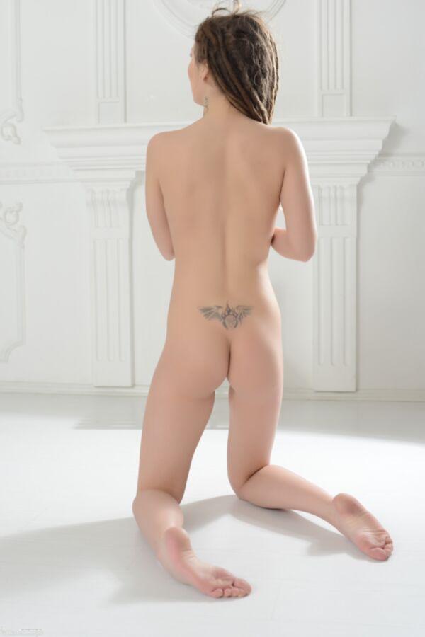 Tight redhead ass