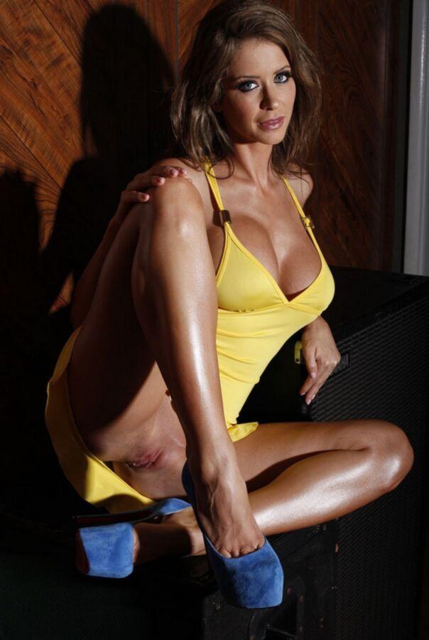 Free porn pics of Emily Addison - Yellow 11 of 172 pics
