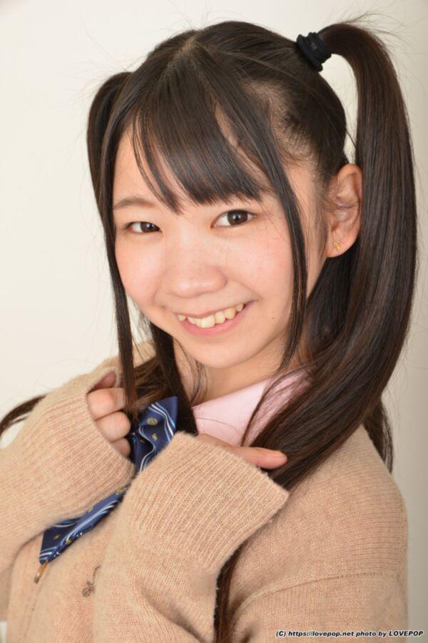 Free porn pics of Yuzuka Shirai - white cotton pantie classroom tease 8 of 74 pics
