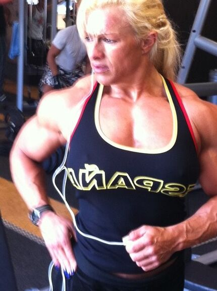 Fanny Palou! Brazilian Muscle Beauty! 17 of 73 pics