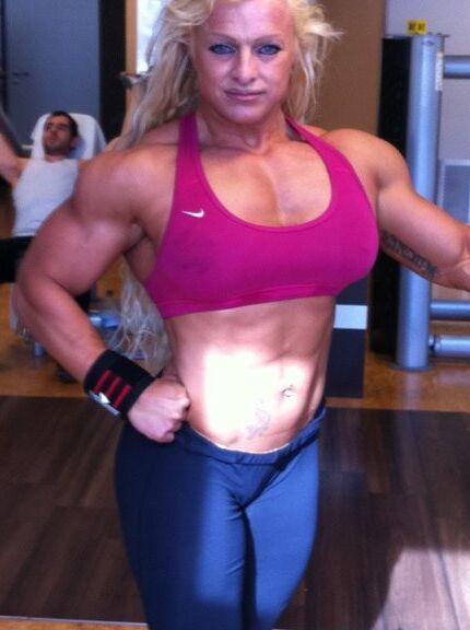 Fanny Palou! Brazilian Muscle Beauty! 18 of 73 pics