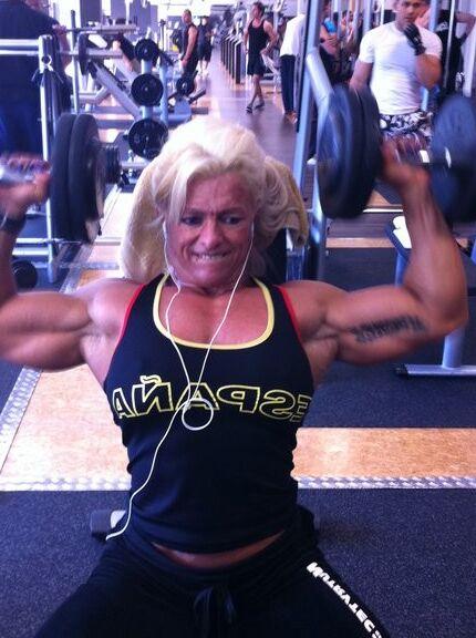 Fanny Palou! Brazilian Muscle Beauty! 11 of 73 pics